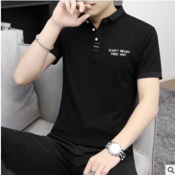 夏季亚麻男士套装纯色青年T恤九分裤休闲宽松男装中国风两件套男