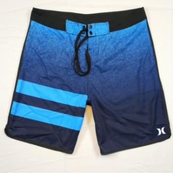 男亚马逊现货新款夏季休闲运动短裤 男装条纹青春流行男式沙滩裤