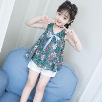 裙子短裤套装 印花韩版新款女童公主裙童装童裙连衣裙子 厂家现货