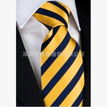 领带精品真丝领带色织领带