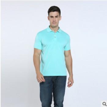 夏季短袖Polo广告衫 翻领吸汗速干 男工作服 企业文化衫定制logo
