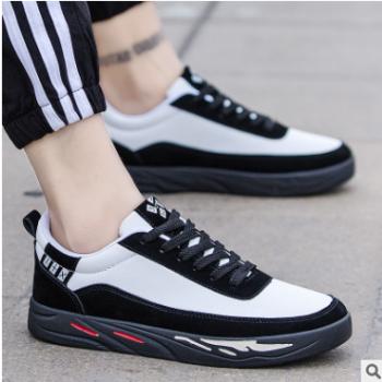 新款韩版潮流休闲鞋男鞋学生运动鞋板鞋单鞋子透气百搭一件代发