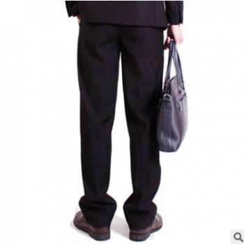 春秋款男士商务休闲西裤 修身直筒男式西裤 定制西裤男装厂家批发
