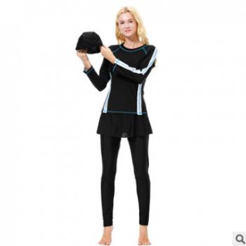 现货中东泳装保守游泳衣,H1010,速卖通EBAY亚马逊AMAZON热卖