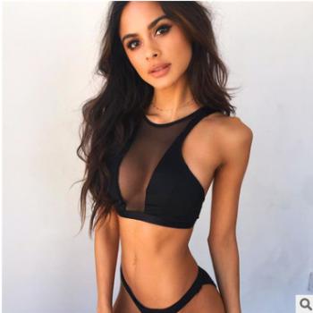 2019春夏爆款速卖通亚马逊热卖性感黑色抹胸上衣