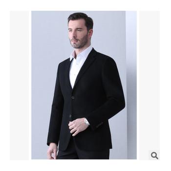 高级定制纯进口毛料西服西裤职业装工作服套装