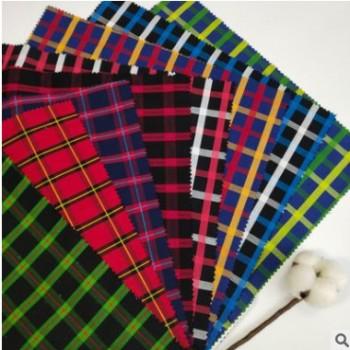 厂家直销40s 全棉色织格子布 连衣裙服装面料