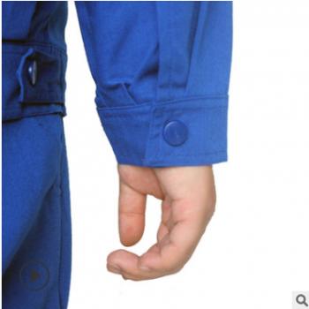 新品促销男女纯色红蓝春秋长袖工作服套装上衣工厂服汽修服套装