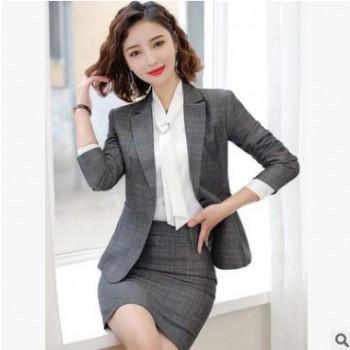 秋装西装女士职业套装时尚OL职业装西服正装气质经理工作服女神
