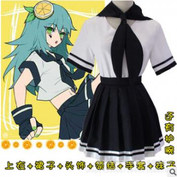 动漫凹凸世界柠檬妹安莉洁cos服cosplay服装跨境专供