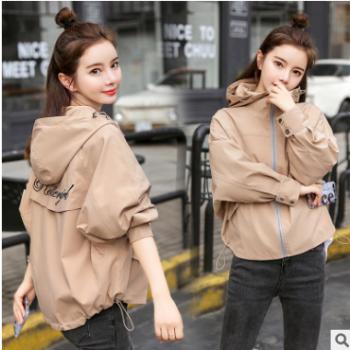 韩版学生流行宽松bf工装休闲夹克2019秋季新款小个子薄款短外套女