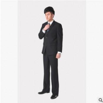 商务细纹西服套装男新郎服装韩版男士结婚修身礼服男套装正装婚礼