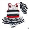 儿童泳衣连体款女童户外游泳衣