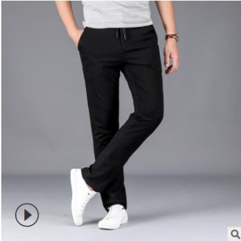 厂家直销 一件代发 男士慢跑裤男式松紧裤薄款男士运动裤夏季长裤