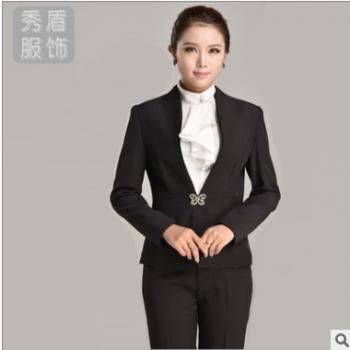 韩版时尚白领OL女士正装面试装气质白领职业装现货河南厂家直销