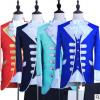 男士演出服舞台复古欧式话剧白马王子表演服装欧洲宫廷礼服成人款