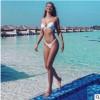 2019欧美沙滩分体比基尼跨境泳衣女纯色泳装新款Bikini一件代发