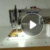 厂家批发1530D电脑直驱曲折缝 自动供油人字车 厚料大梭拼缝机