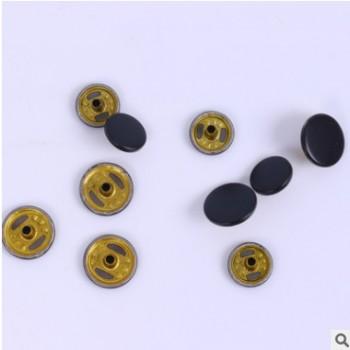 厂家直销金属铜四合扣 面板多色可定牛仔裤 10mm纽扣现货批发