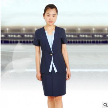 移动工作服空姐制服职业女装套裙酒店KTV服务员制服修身韩版