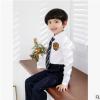 儿童西服套装小学生班服花童礼服韩版中大童男孩主持人钢琴演出服