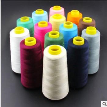 厂家直销3000码高速缝纫线涤纶缝纫机线涤纶线手工缝线服装线衣服