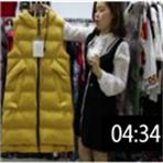 2019年最新精品女装批发服装批发时尚服饰时尚女士羽绒棉长马夹20件一份 (106播放)