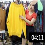 2019年最新精品女装批发服装批发时尚服饰时尚女士春秋款卫衣特价走份20件一份 (106播放)