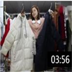 2019年最新精品女装批发服装批发时尚服饰时尚女士长款棉衣20件一份 (1播放)