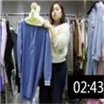 2019年最新精品女装批发服装批发时尚服饰时尚女士长款毛衣25件一份 (126播放)