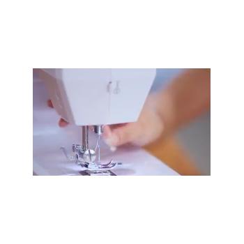 厂家直销1602缝纫机吃厚锁扣眼锁边迷你电动多功能小型家用缝纫机