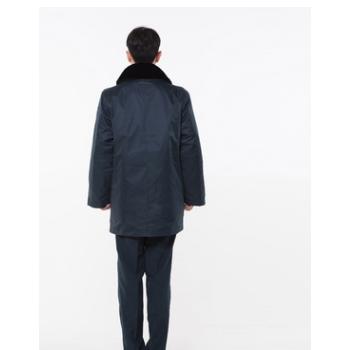 厂家批发保安防寒中长大衣2011式新款冬季加厚保安棉多功能大衣