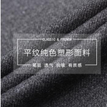 男士西服套装灰色爸爸装商务西装中老年西装工厂现货批发一件代发