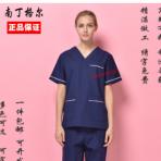 新款男女医生韩版洗手衣医院手术衣紫口腔科诊所工作服包邮