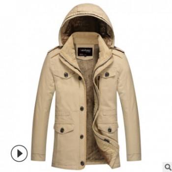 2018春冬新款韩版时尚男装水洗加厚男式夹克 男士夹克外套批发
