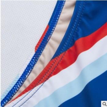 2019新款 泳衣 欧美 时尚 性感紧身侧开系绳数码印 比基尼 bikini