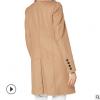 羊毛大衣女中长款流行2019秋冬新款羊毛呢外套宽松加厚女士呢大衣