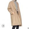 韩版双面呢羊绒大衣女2019热销女装毛呢外套女士羊毛大衣长外套女