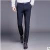商务休闲直筒西装裤男士便装休闲裤修身舒适百搭免烫长裤一件代发