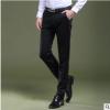 2019韩版西裤男商务时尚休闲裤春秋季职业正装修身长裤西装直筒裤