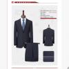 2020男士西服套装职业装西装修身黑色商务新郎结婚礼服两件套