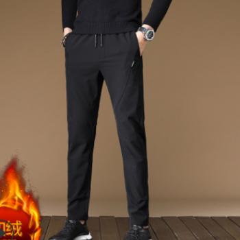 2019新款四季男士休闲裤修身韩版男式小脚裤铅笔运动裤一件代发