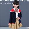 幼儿园园服订做新款英伦童装校服 学院风针织中小学生班服定制