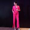 预售 2018女装西装套装 青稞领休闲西装薄款 修身女性职业套装