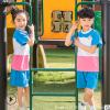 贝宝港2019夏季幼儿园园服夏装短袖儿童毕业照班服小学生校服套装