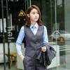 女士西服套装男士西装三件套新郎结婚礼服韩版修身商务职业上班