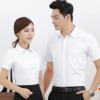 夏季职业装男女同款短袖衬衫商务正装面试白色衬衫白领经理工作服