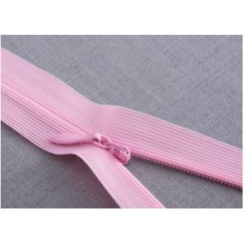 批发布边隐形拉链家纺抱枕靠垫彩色尼龙拉锁粉色蕾丝裙裤拉链