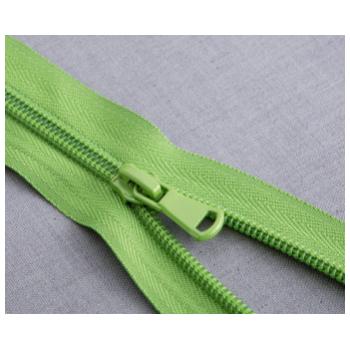 批发多规格尼龙拉链 浅绿色蕾丝裙子拉链 服装裤子花边拉链定做