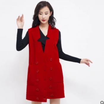 协全和服饰可定制冬季新款中长款高腰纯色女士职业工作裙